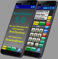 modulares Kassensystem OrderHandy mit dem Android Betriebssystem